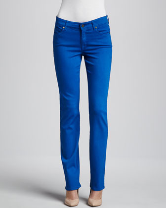 CJ by Cookie Johnson Faith Bright Straight-Leg Jeans