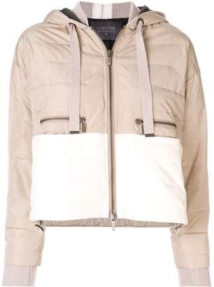 Lorena Antoniazzi padded contrast jacket