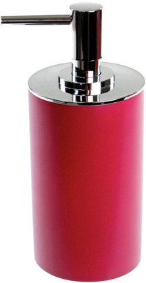 Nameeks Round Ruby Red Free Standing Soap Dispenser