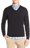 Nordstrom Men's Cotton & Cashmere V-Neck Sweater
