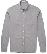 Tomas Maier - Slim-fit Button-down Collar Gingham Cotton Shirt
