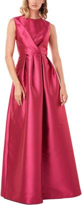 Kay Unger Josephine Lola Twill Gown