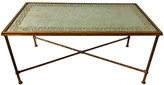 One Kings Lane Vintage Hollywood Regency Style Coffee Table - Von Meyer Ltd. - gold
