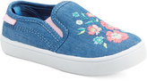 Carter's Tween Embroidered Slip-On Sneakers, Toddler Girls (4.5-10.5) & Little Girls (11-3)