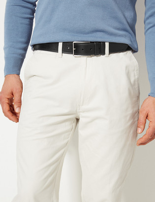 Marks and Spencer Leather Stitch Detail Belt