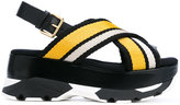 Marni technical fabric sandals - women - Leather/Polyamide/Polyester/rubber - 39
