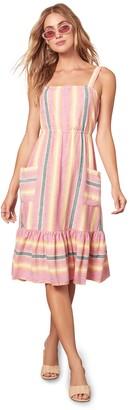 BB Dakota Pink Lemonade Midi Dress