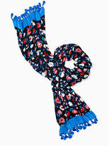 Kate Spade Daisy oblong scarf