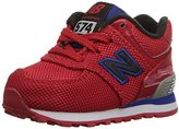 New Balance KL574 Lace-Up Running Shoe (Infant/Toddler)