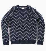 Saturdays Nyc Keith Zig Zag Sweater