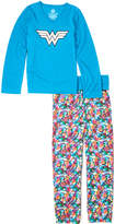 Intimo Wonder Woman Yoga Sleep Set - Girls