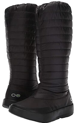 OOFOS Oomg Boot (Black) Women's Shoes