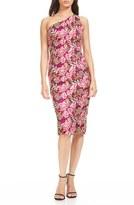 Theia Women's Lace & Silk Dress