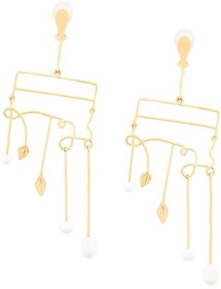 Aurélie Bidermann Sirocco clip-on earrings