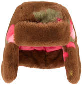 Billieblush Faux fur hat with earflaps