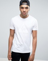 Le Coq Sportif Essential Flock T-Shirt In White 1710348