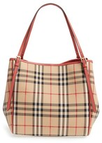 Burberry 'Horseferry Canterbury' Nylon Tote - Pink