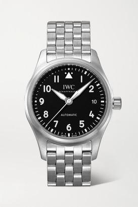 IWC Schaffhausen SCHAFFHAUSEN - Pilot's Automatic 36mm Stainless Steel Watch - Silver