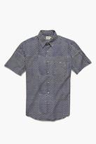 Faherty Fishscale Batik Short Sleeve Knit Coast Shirt