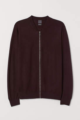 H&M Wool-blend Cardigan - Red