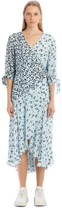Paper London Freesia Dress - Blue/Black