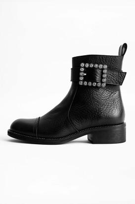 Zadig & Voltaire Empress Buckle Boots