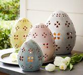 Pottery Barn Pierced Ceramic Eggs