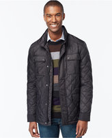 MICHAEL Michael Kors Quilted Filed Coat