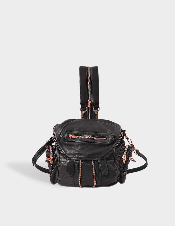 Alexander Wang Marti Mini Backpack Rose Gold Finish