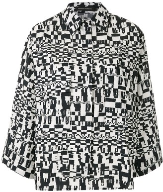 Andrea Marques Short Sleeves Printed Shirt