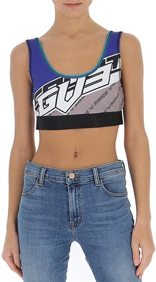 Givenchy Graphic Logo Sports Bra
