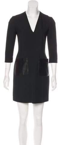 Burberry Mini Sheath Dress