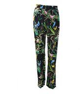 N°21 N° 21 Black Exotic Ring Trousers