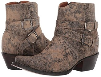 Lucchese Rebel (Tan Marble) Women's Boots