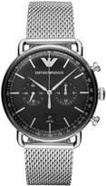 Emporio Armani Chronograph watch silvercoloured