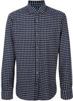 Barba square pattern shirt