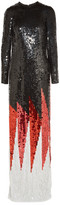 Tom Ford Sequined Silk Gown - Black