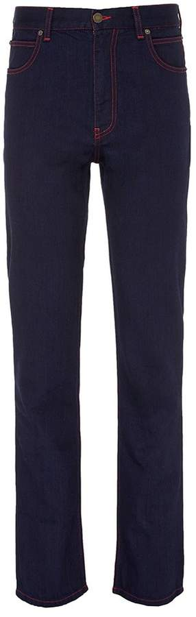 Calvin Klein Contrast stitch slim fit jeans