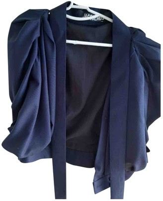 Jacquemus L'Amour d'un Gitan Navy Wool Top for Women