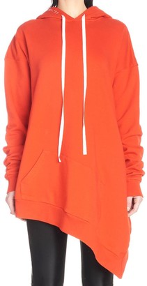 Unravel Project Oversized Asymmetric Hoodie