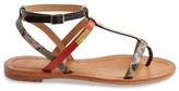 Les Tropéziennes PAR M.BELARBI Baie Flat Leather Sandals