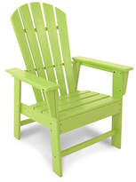 Polywood South Beach Adirondack Armchair - Lime