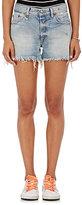 R 13 Women's Cotton Cutoff Shorts