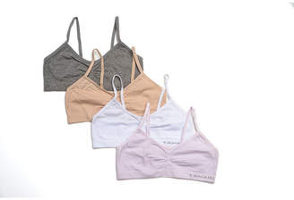 Tahari Girl 4-Pack Seamless Bra