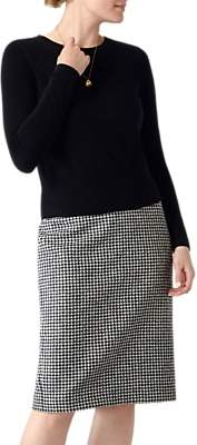 Pure Collection Cropped Cashmere Jumper