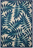 Aloha Indoor/Outdoor Area Rug - Navy