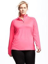 Old Navy Go-Dry Cool Plus-Size 1/4-Zip Pullover