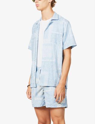 Bather Bandana paisley-print cotton-blend shirt