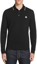 Moncler Long Sleeve Regular Fit Polo Shirt