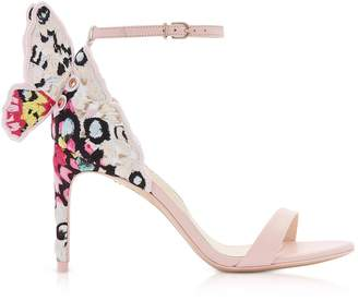 Sophia Webster Sophia Pink & Multi Chiara Embellished 85mm Sandals